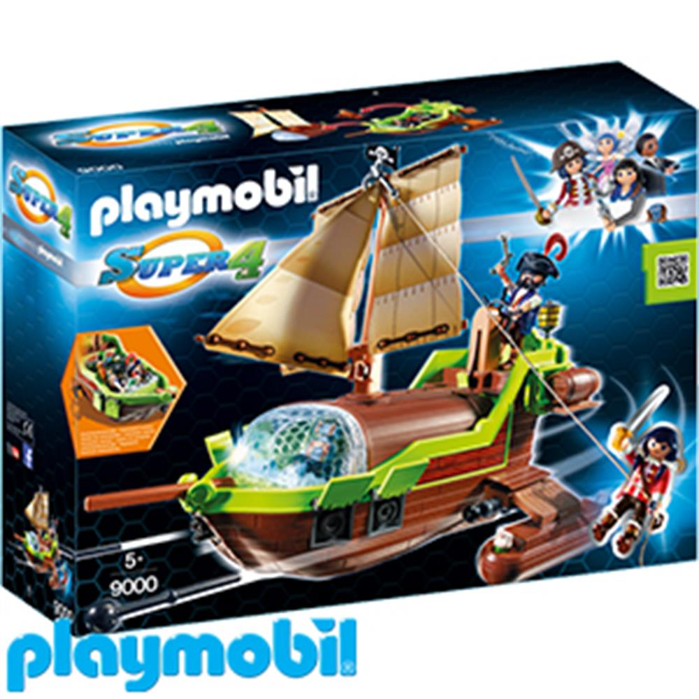 Picture of Playmobil Super 4: Pirate Chameleon (9000)