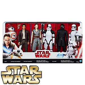 Picture of Star Wars The Last Jedi 6 Figure Pack