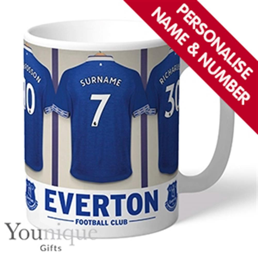 Picture of Personalised Everton FC Mug