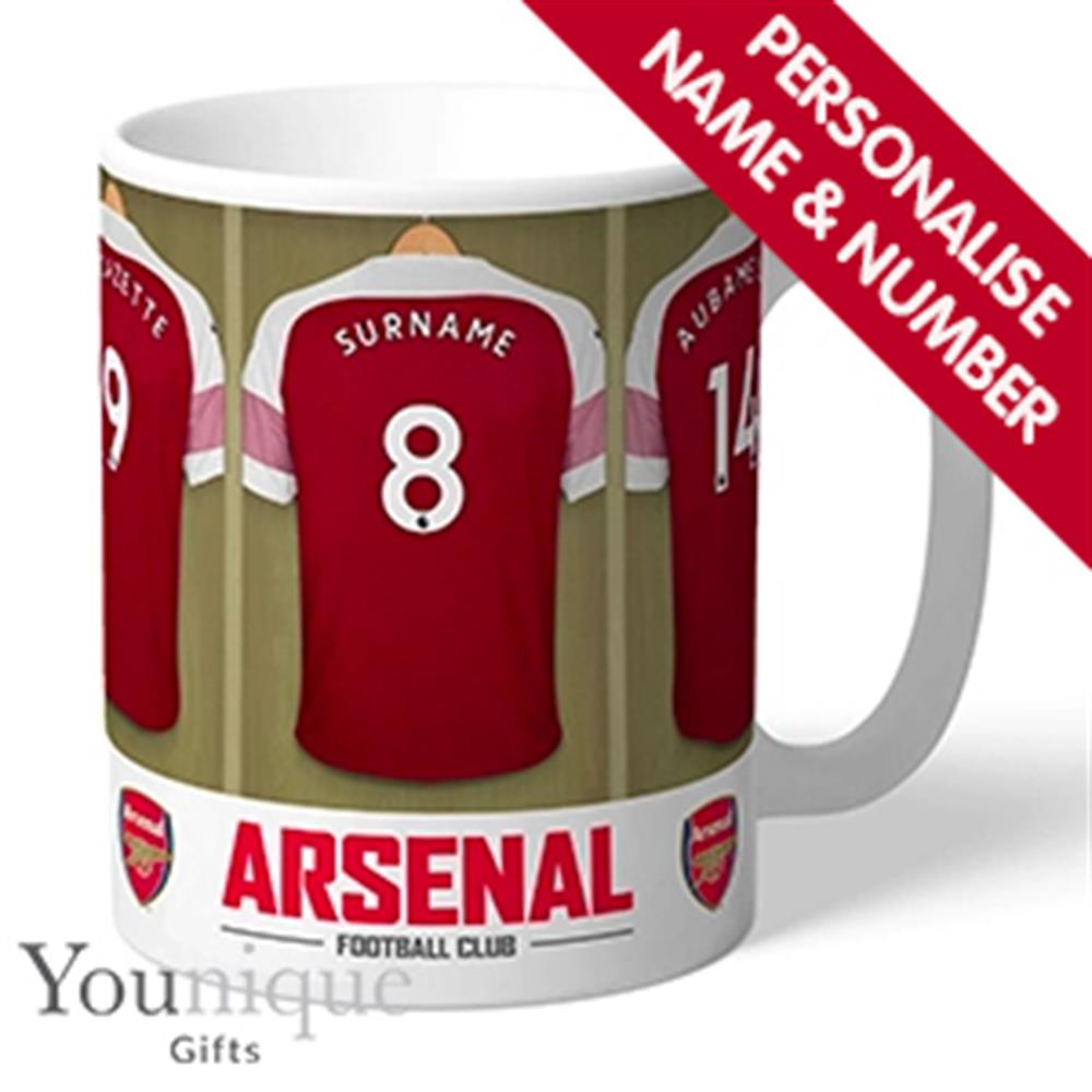 Picture of Personalised Football Arsenal FC Mug