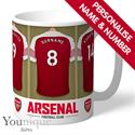 Personalised Arsenal FC Mug