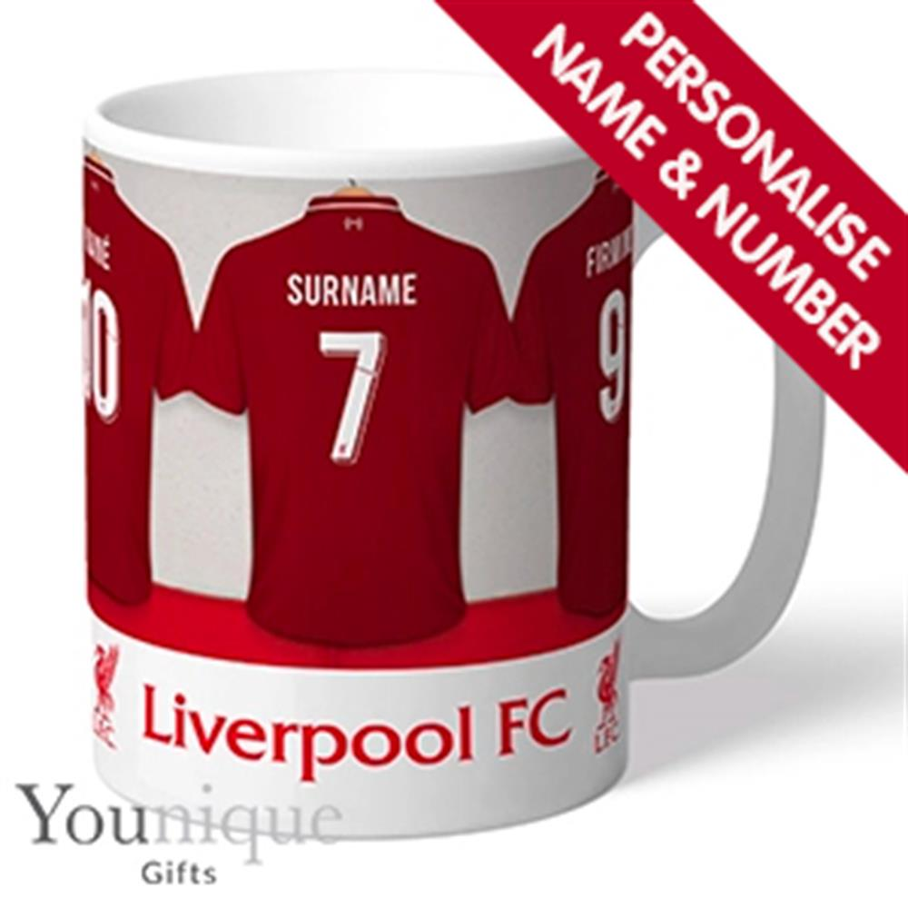 Picture of Personalised Football Liverpool FC Mug