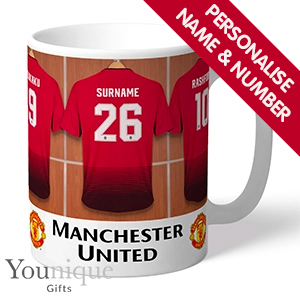 Buy Personalised Manchester United Fc Mug At Home Bargains