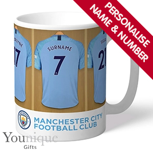 Picture of Personalised Manchester City FC Mug