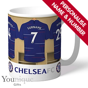 Picture of Personalised Chelsea FC Mug