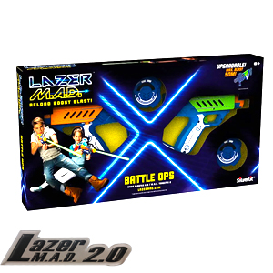 Picture of Lazer MAD: Battle Ops 2 Pack