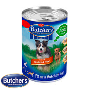 Picture of Butchers Chicken & Tripe Loaf in Jelly (24 x 400g Tins)