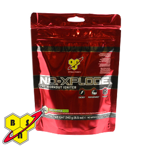 Picture of BSN N.O. EXPLODE Pre-Workout Igniter: Apple Flavour