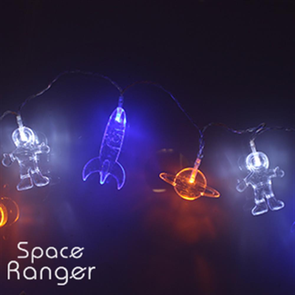 Picture of Space Ranger 10 Multicoloured Space String Lights