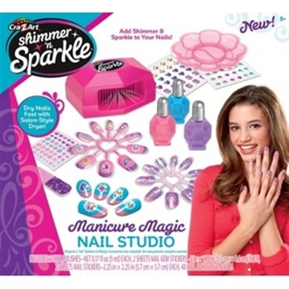 Picture of Cra-Z-art Shimmer 'n' Sparkle Manicure Magic Studio