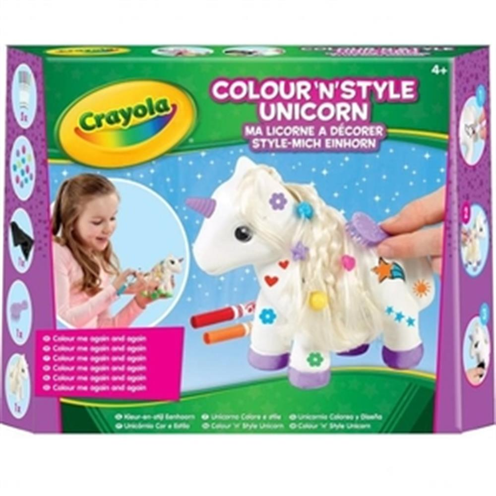 Picture of Crayola Colour 'n' Style Unicorn