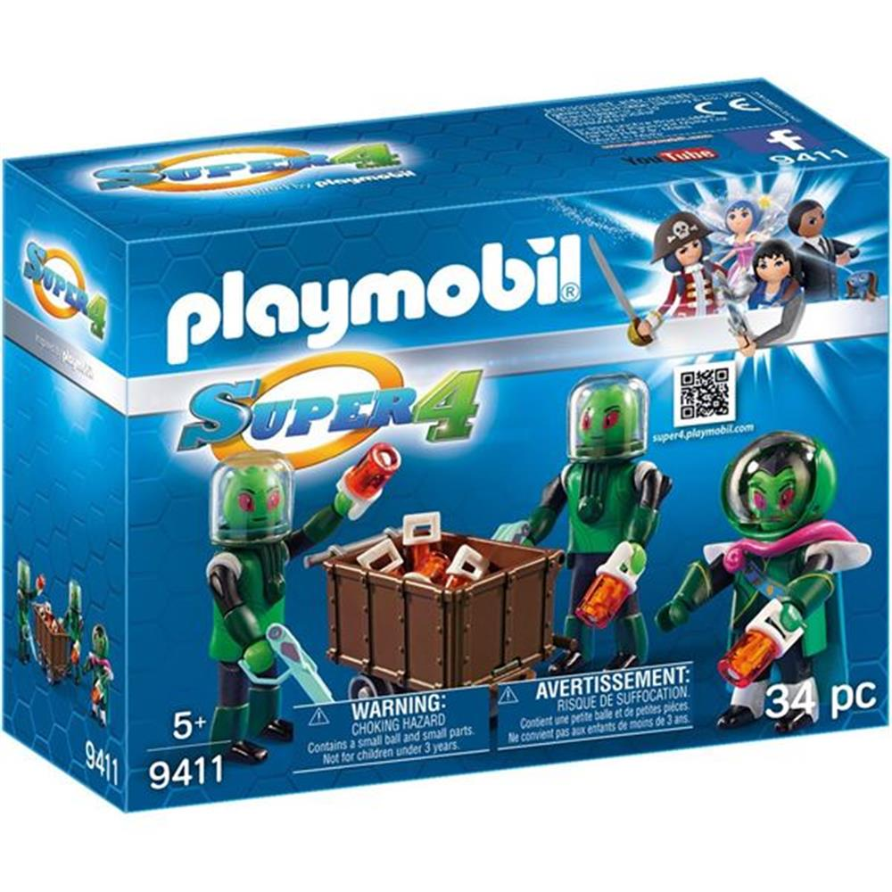 Picture of Playmobil Super 4: Skyronians (9411)