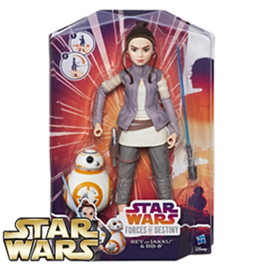 Picture of Star Wars Forces of Destiny Rey of Jakku & BB-8