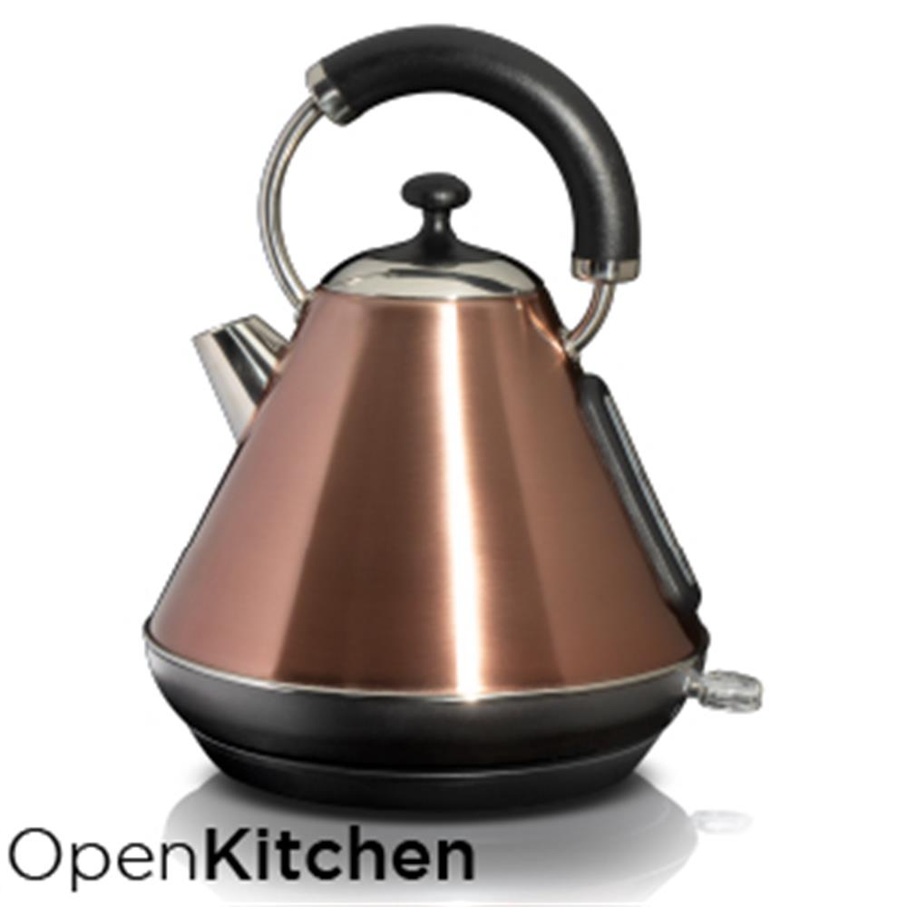 Picture of Open Kitchen 1.8L Pyramid Copper Effect Kettle