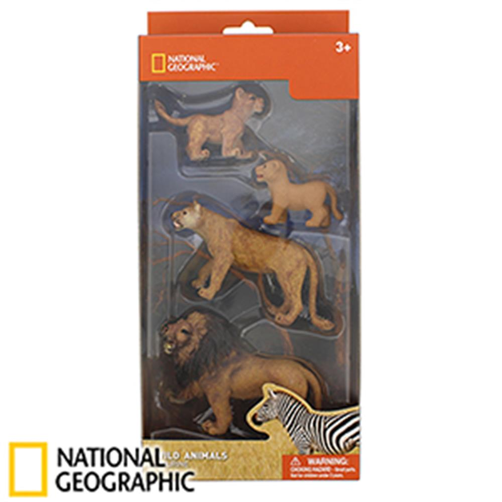 Picture of National Geographic Wild Animals Lion Family Figurines