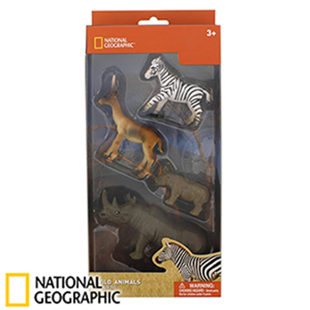Picture of National Geographic Wild Animals Safari Figures