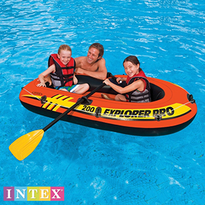 Buy Intex 200 Explorer Pro Inflatable Boat at Home Bargains