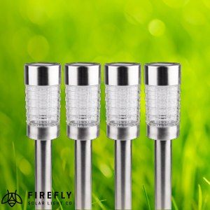 Picture of Firefly Bollard Stake Solar Lights (Pack of 4)