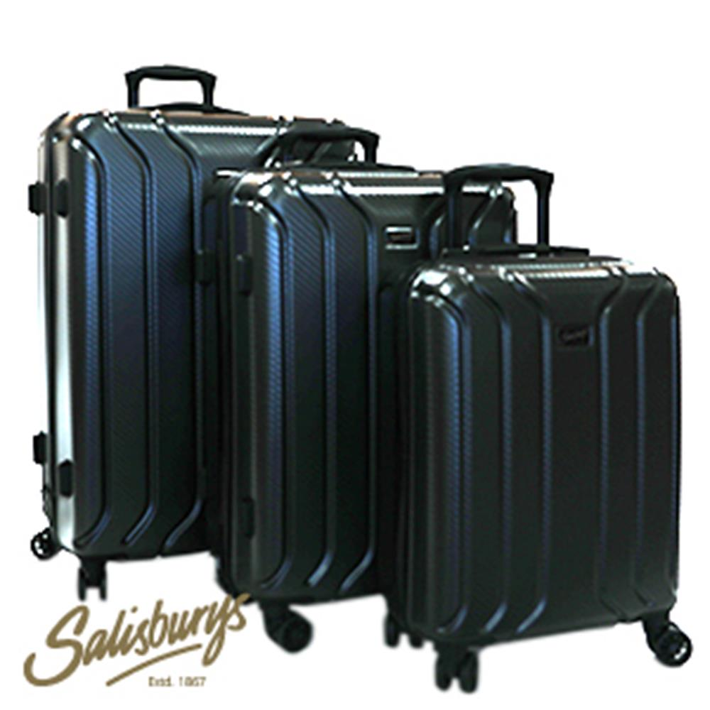 Picture of Salisburys Hard Shell Suitcase: Black