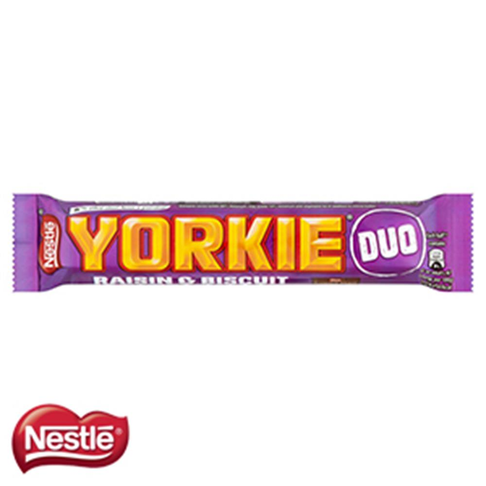 Picture of Yorkie Raisin & Biscuit Duo (Case of 24 Bars)