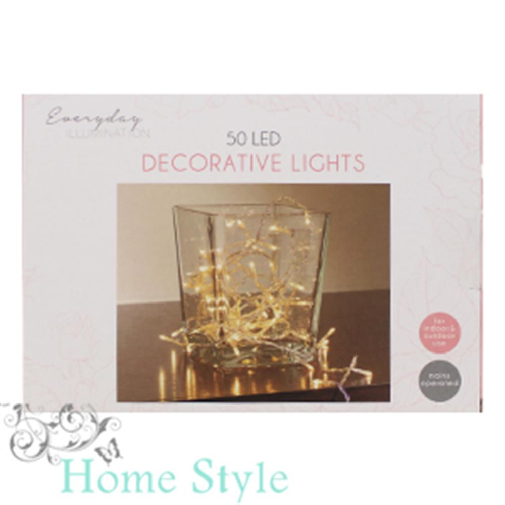 Picture of Special Occasion Decorative Rice Lights: Warm White