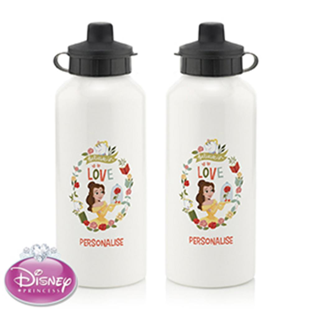Picture of Personalised Disney Princess Belle Water Bottle