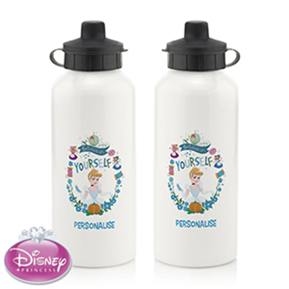 Picture of Personalised Disney Princess Cinderella Water Bottle