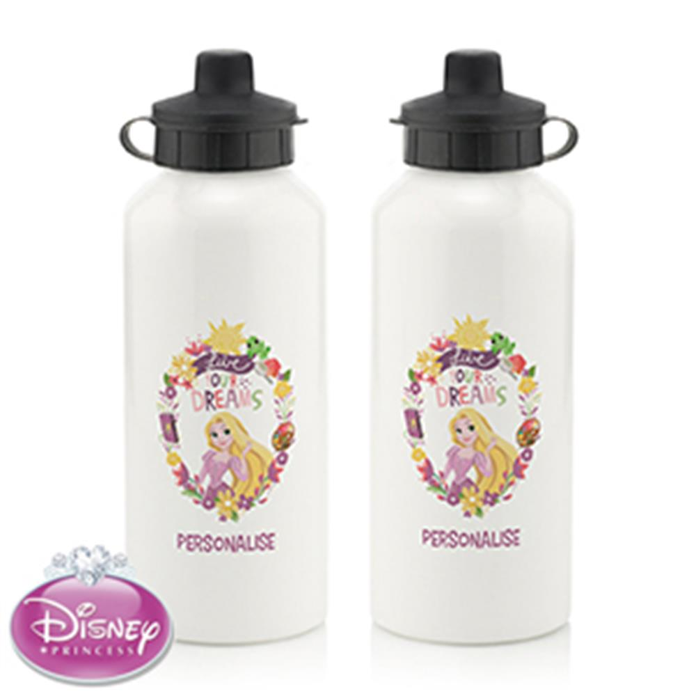 Picture of Personalised Disney Princess Rapunzel Water Bottle
