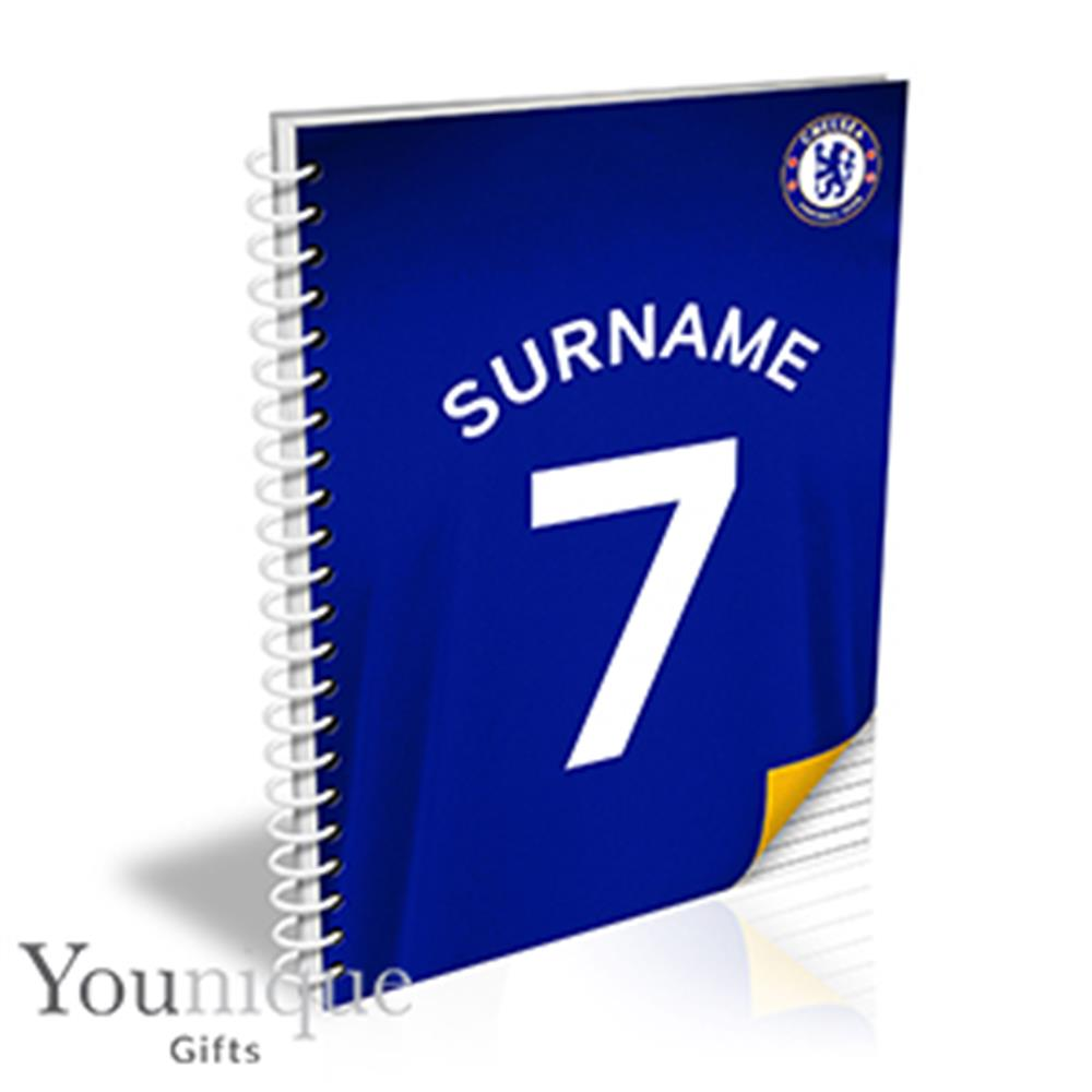 Picture of Personalised Chelsea FC A5 Notebook