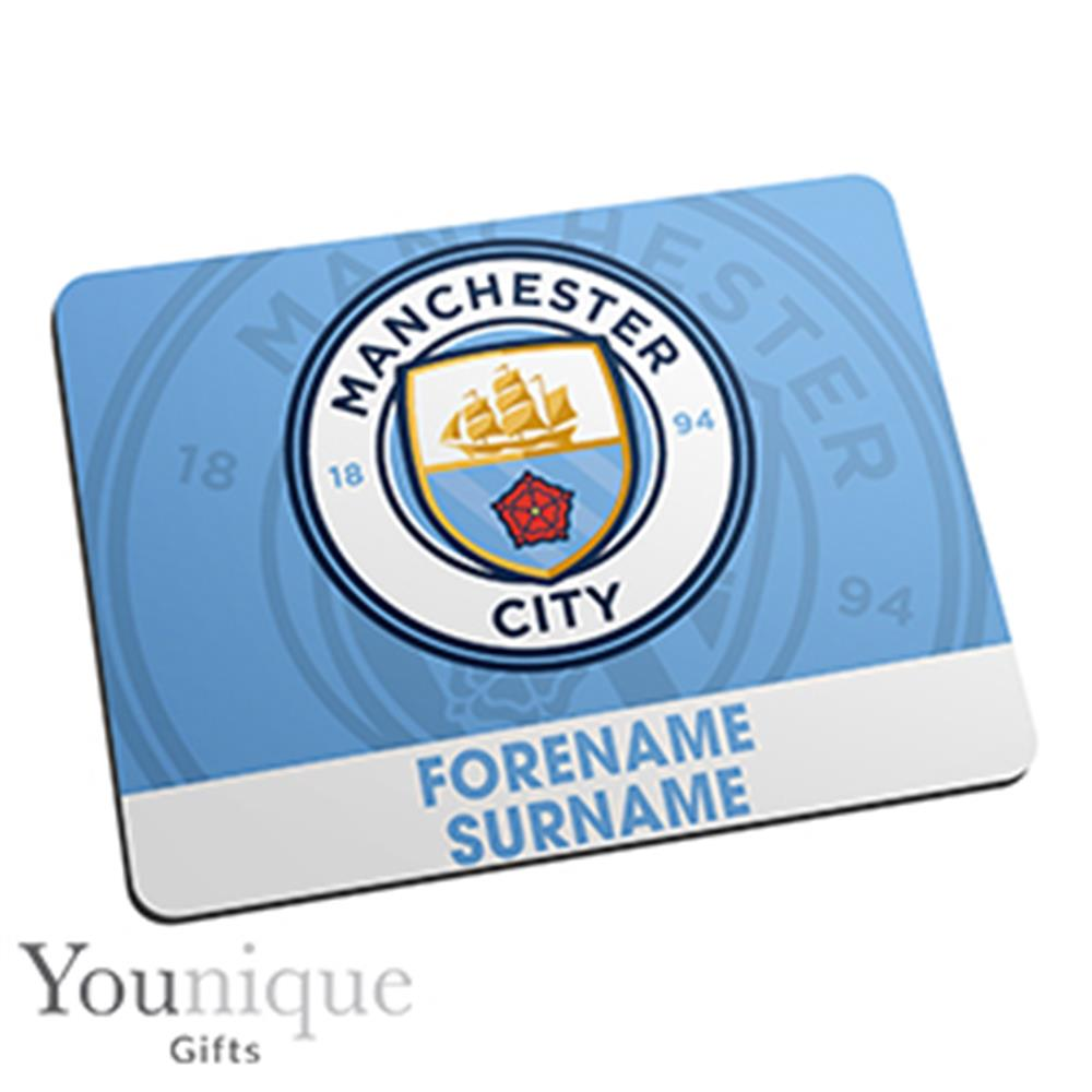 Picture of Personalised Manchester City FC Mouse Mat