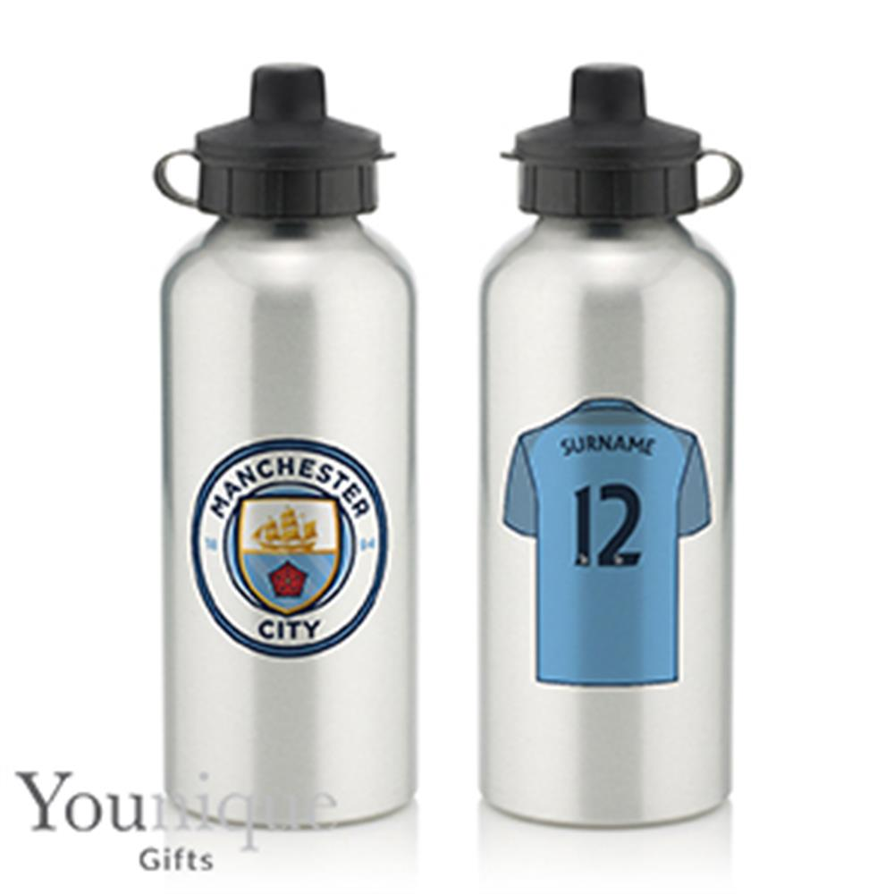 Picture of Personalised Manchester City FC Water Bottle