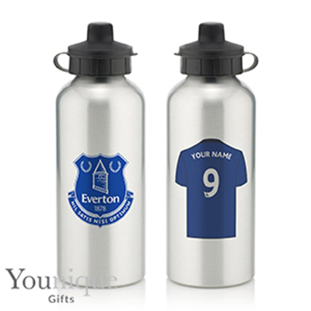 Picture of Personalised Everton FC Water Bottle