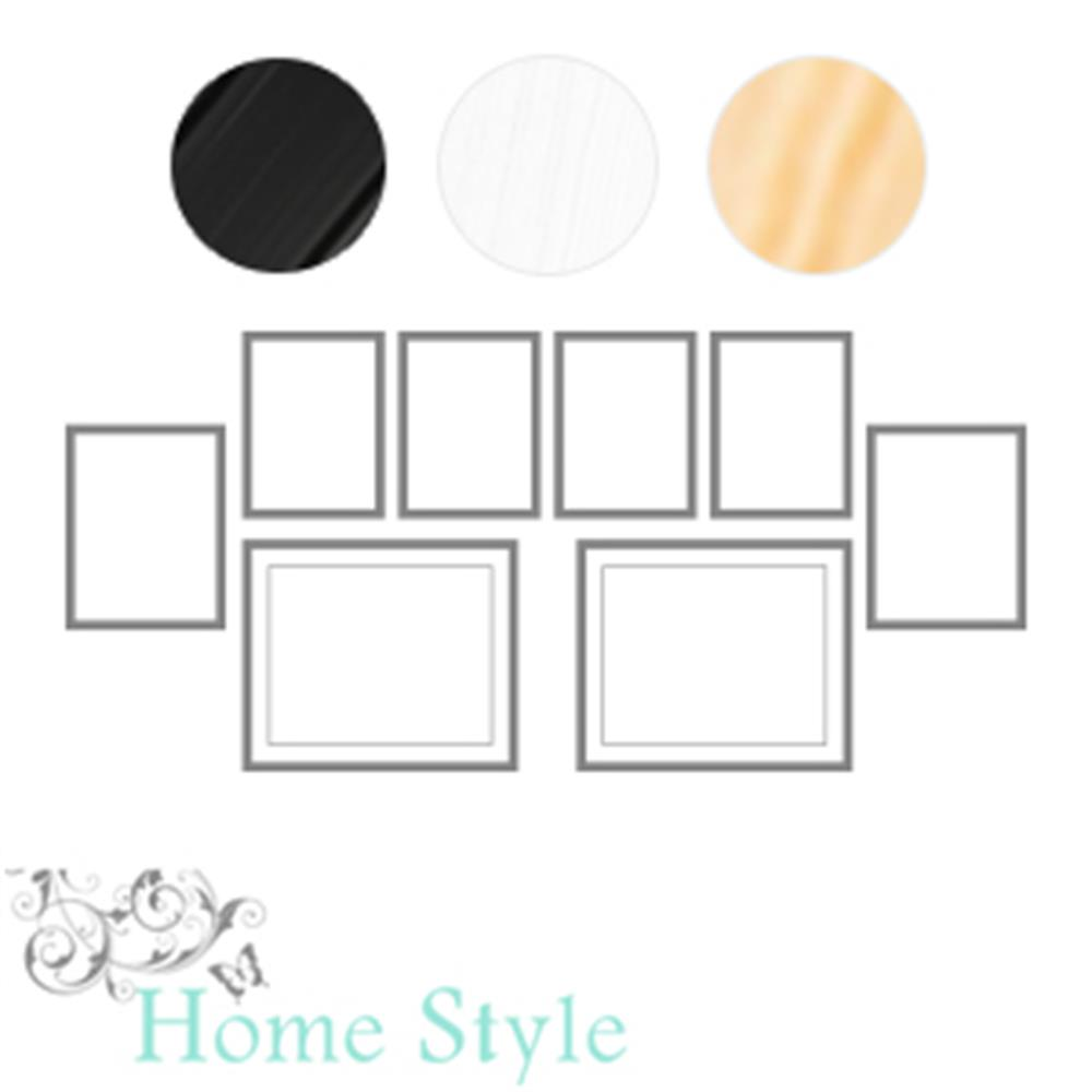 Picture of Homestyle Set of 8 Wall Photo Frames