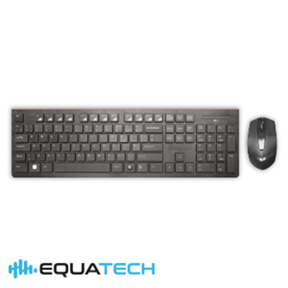 Picture of Equatech Wireless Keyboard and Mouse