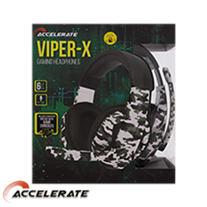 Picture of Accelerate Viper-X Gaming Headphones
