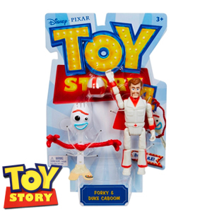 Picture of Toy Story 4 Posable Forky & Duke Caboom Figure