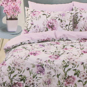 Picture of Home Collections: Botanical Floral Printed Duvet Set