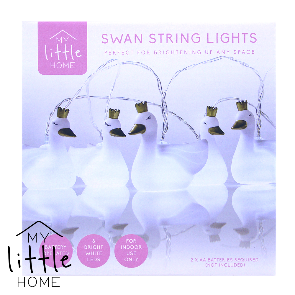 Picture of My Little Home: Swan String Lights