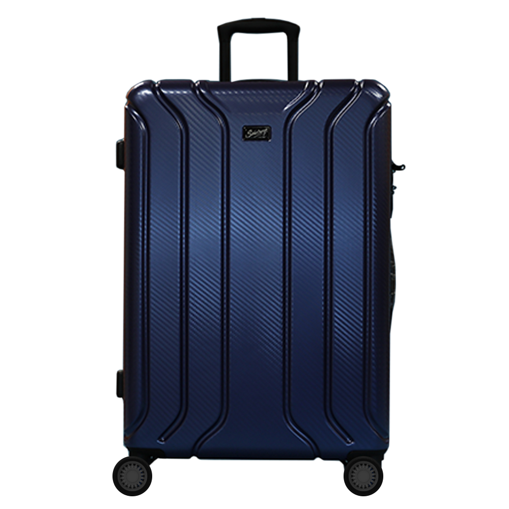 Picture of Salisburys: Hard Shell Suitcase - Blue