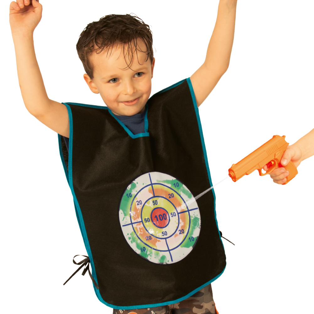 Picture of Active Play: Water Pistol Target Vest Game