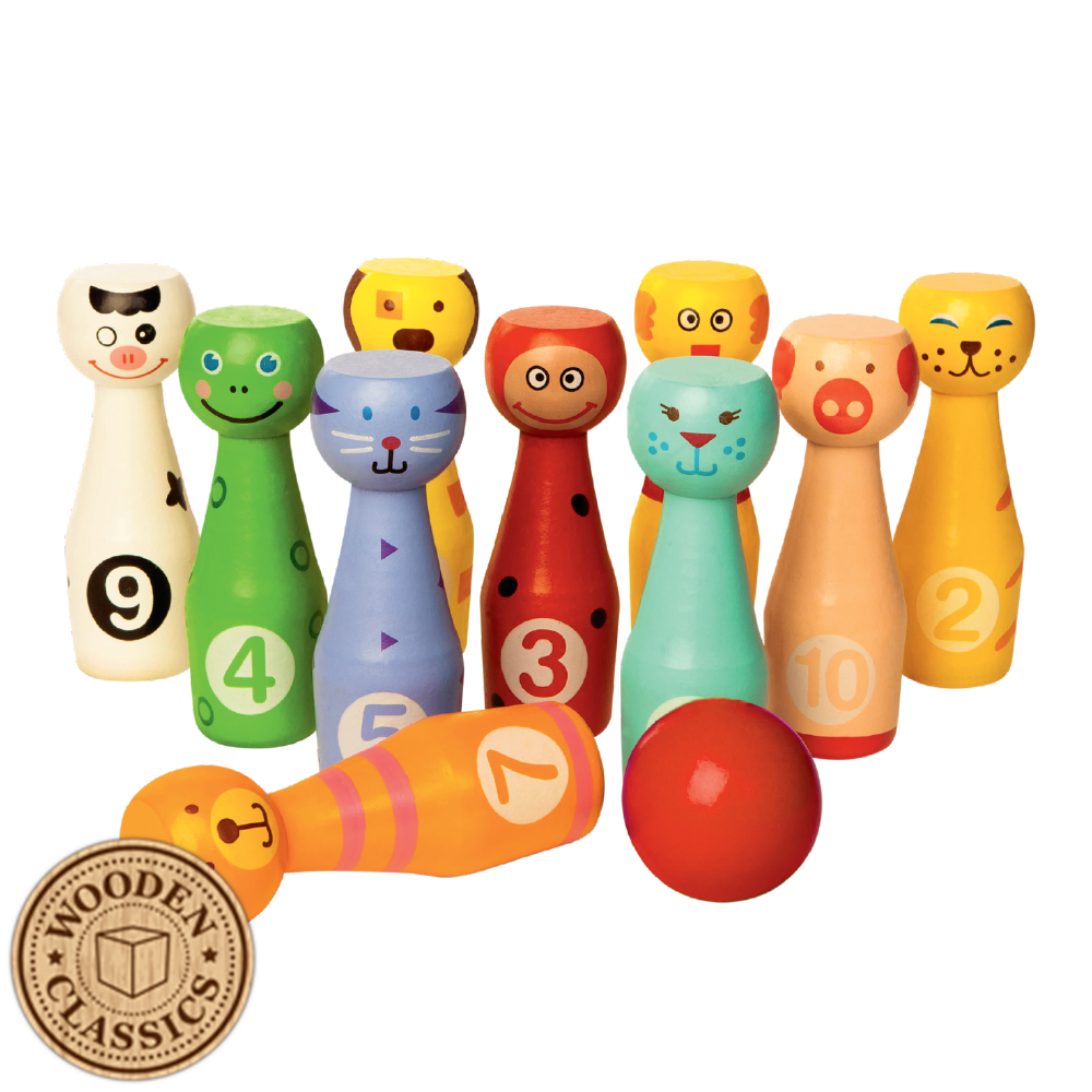 Picture of Wooden Classics Wooden Skittles