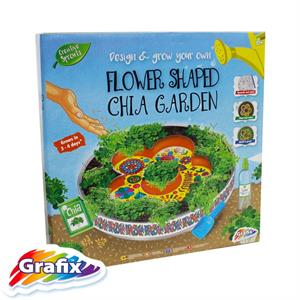Picture of Design & Grow Your Own Flower Shaped Chia Garden