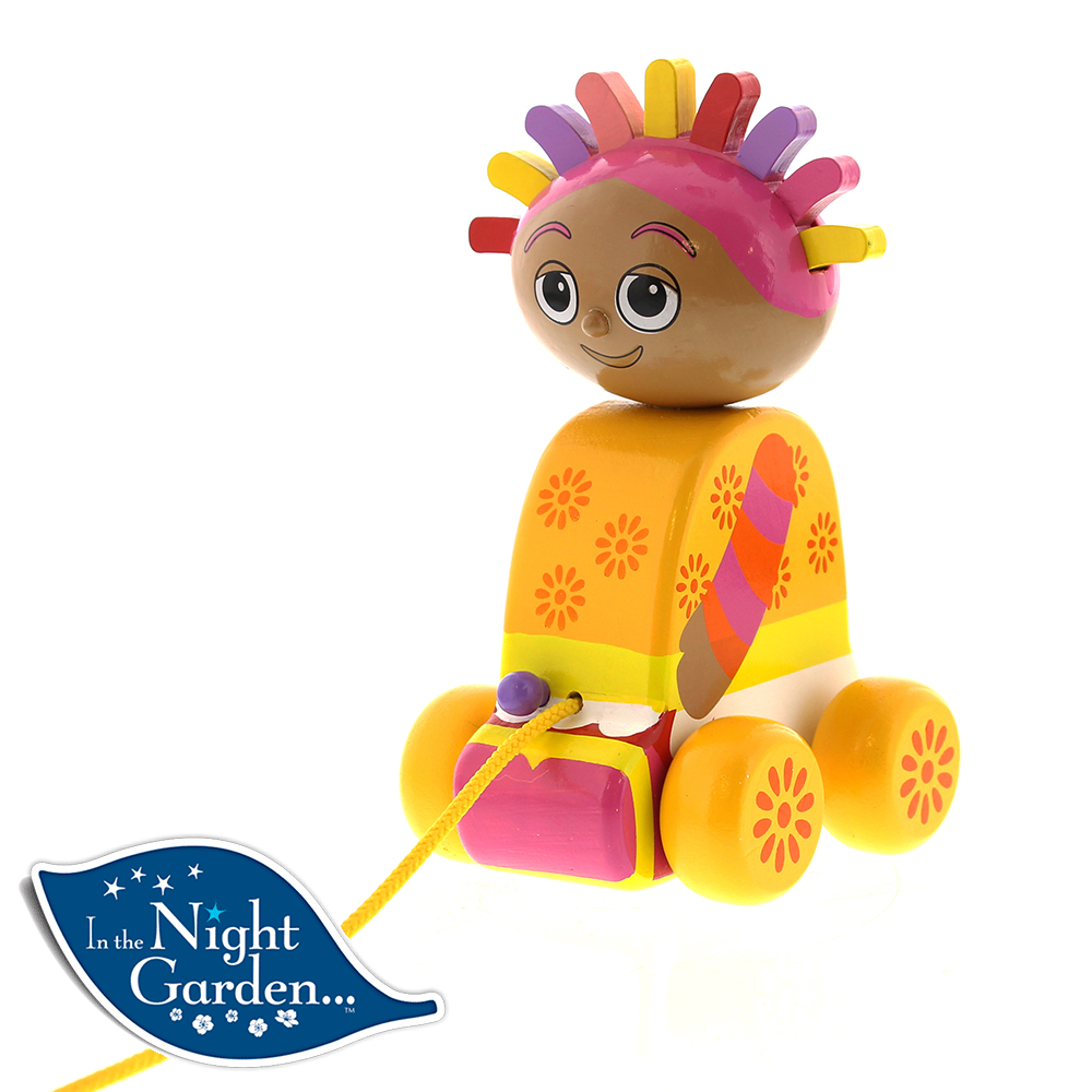 Picture of In The Night Garden: Wooden Pull Along Upsy Daisy