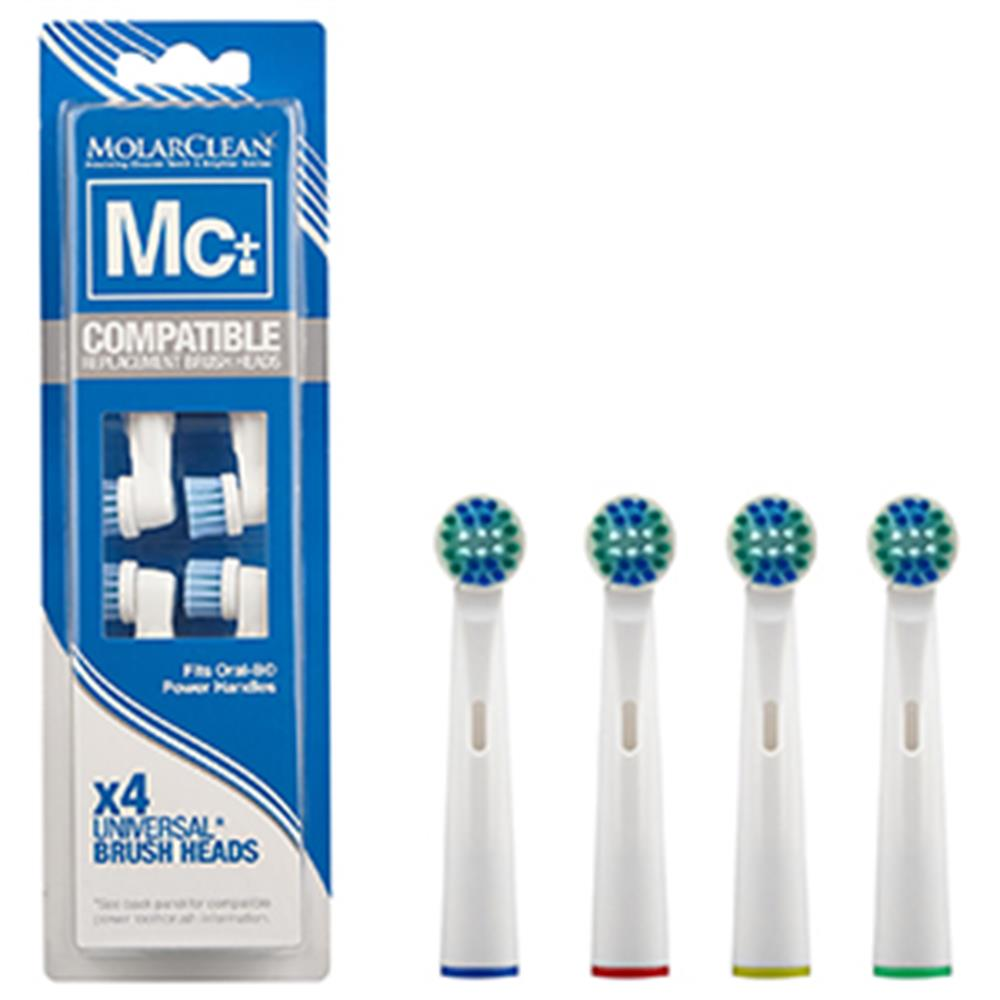 Picture of Molarclean Compatible Toothbrush Heads (4 Pack)