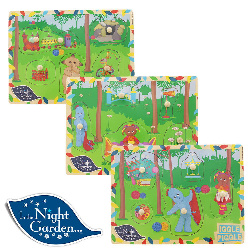 Picture of In The Night Garden Wooden Puzzle