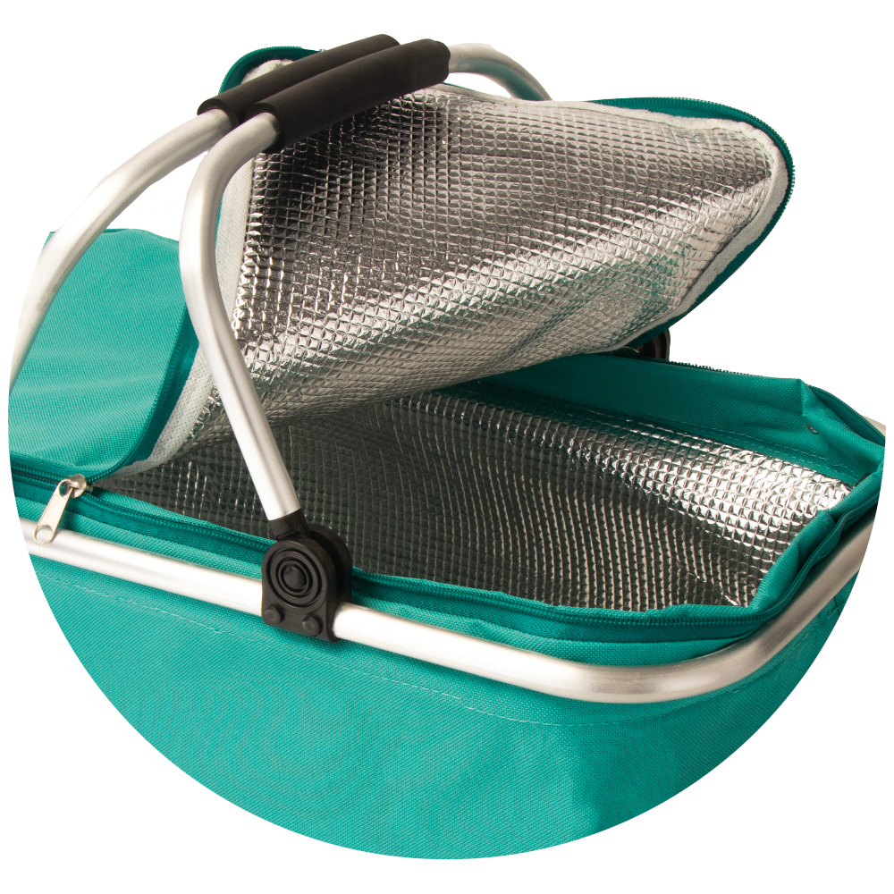 Picture of Hello Summer: Foldable Cooler Picnic Basket