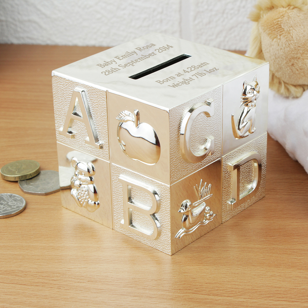 Picture of Personalised ABC Money Box