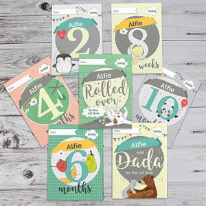 Picture of Personalised Baby Cards: For Milestone Moments