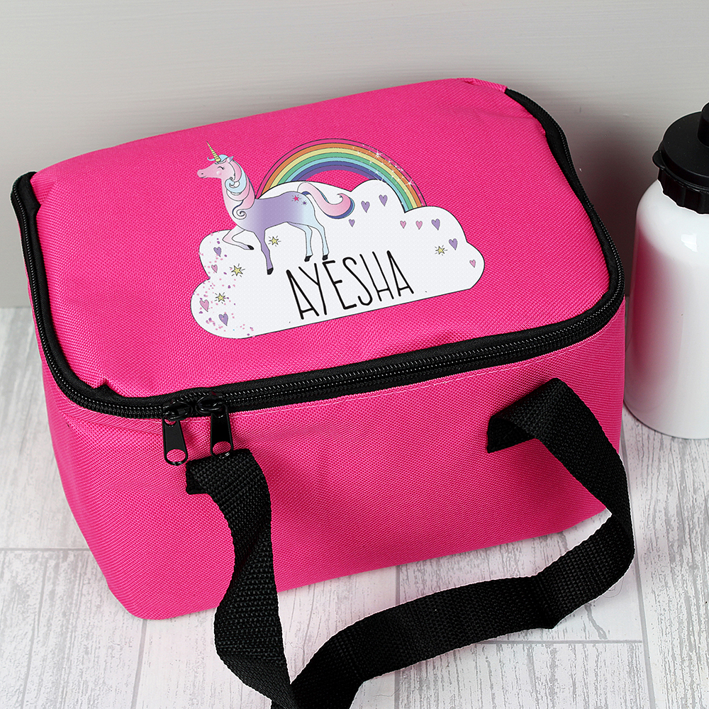 Picture of Personalised Unicorn Lunch Bag