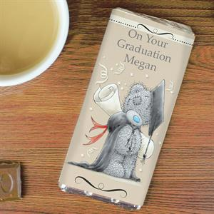 Picture of Personalised Me to You Graduation Milk Chocolate Bar